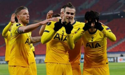 UEL 1st Leg: Gareth Bale Shines As Tottenham Beat Wolfsberger 4-1