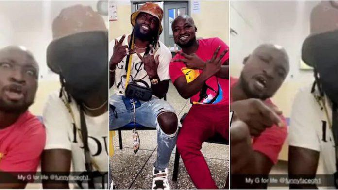 Emotional As Adebayor Reunites With Funny Face At Psychiatric Hospital