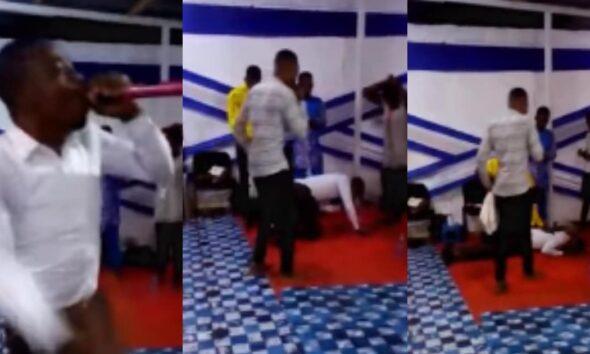 SAD NEWS! Pastor Dies While Preaching In Church; Church Members Shocked [Watch]