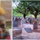 Meet Abena, The Young Girl Who Lives At The Cemetery With Boyfriend Because of Love [Watch]