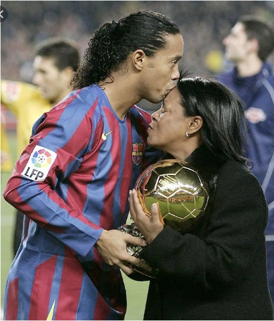JUST IN: Ronaldinho Loses Mother To COVID-19