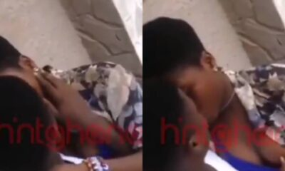 "[WATCH] Hot Video of Two SHS Lovers ""Chopping"" Love In Public Hits Online"