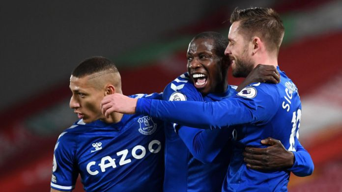 PL: Everton Smash Anfield Hoodoo With Victory Over Liverpool