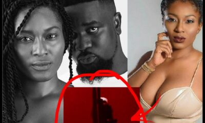 Twitter Users Descend On Sarkodie After Asking His Wife, Tracy to Join The #SilhouetteChallenge [Photos]