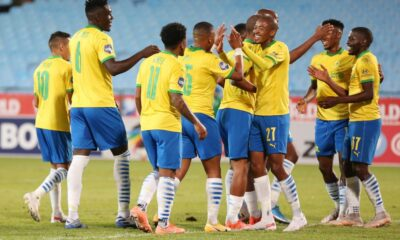 Mamelodi Sundowns Beat SuperSport United To Secure A Fourth Straight DStv Premiership League Title