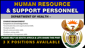 human resource jobs in South Africa