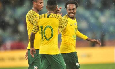 Bafana Bafana Debutants Makgopa, Hlongwane Inspire Comeback Win Against Uganda