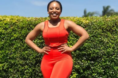 Actress Phindile Gwala Returns To Social Media With A Salivating Photo