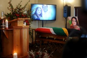 Shaleen Surtie-Richards: Tears Flow As Star Actress Laid To Rest {Video+Photos}