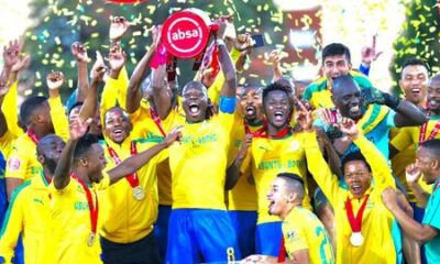 Champions Mamelodi Sundowns Hammer Cape Town City To End Season On A High