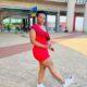 Fan Prays For Entertainer, Zodwa Wabantu [Video]