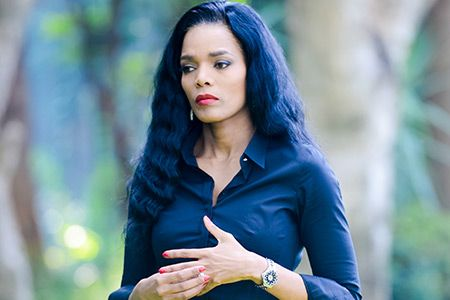 Connie Ferguson In Tears As She Mourns Death Of Her Big Brother