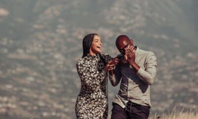 It Started In The DMs – Musa Mthombeni And Liesl Laurie Share Their Love Story