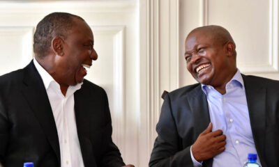 Cyril Ramaphosa slams opposition for attacking David Mabuza on his trip to Russia for medical treatment
