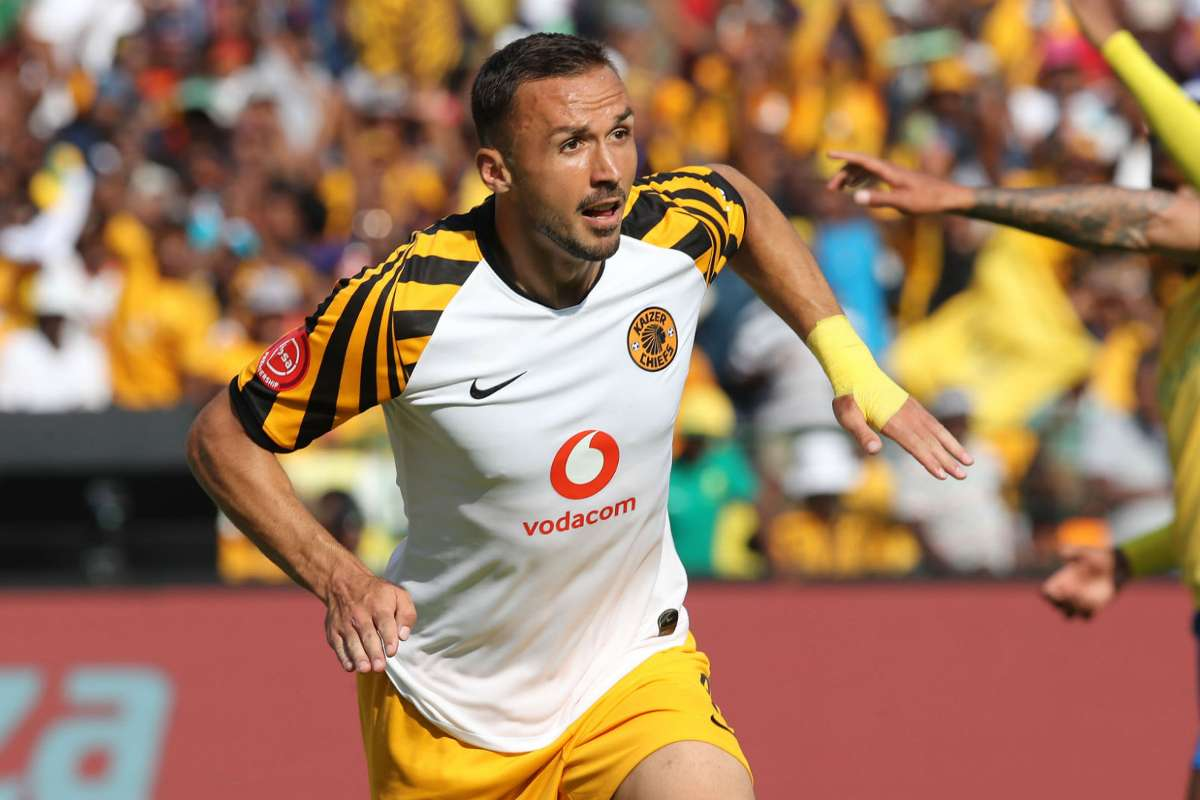 Bad news for Kaizer Chiefs as they lose Samir Nurkovic to injury for two months